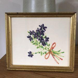 Vintage   Small Framed Art